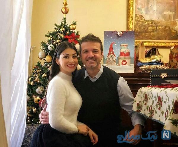 استراماچونی و همسرش