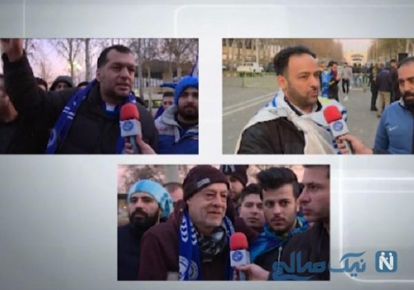 آوار تند اعتراض هواداران استقلال بر سر مسئولان و بازیکنان این تیم