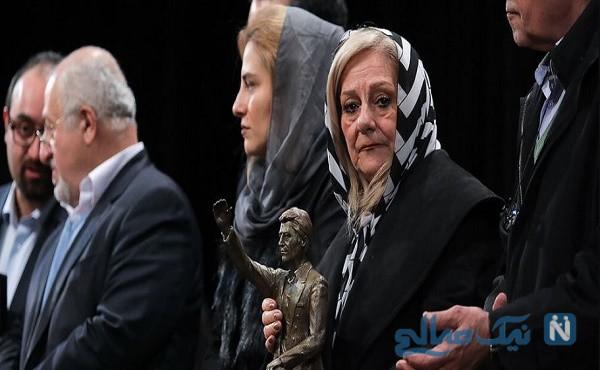 تقدیر از فردوسی پور و غفوری در مراسم جایزه ناصر حجازی
