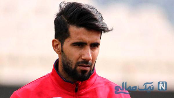 جشن تولد بشار رسن بازیکن فوتبال در اردوی پرسپولیس + تصاویر