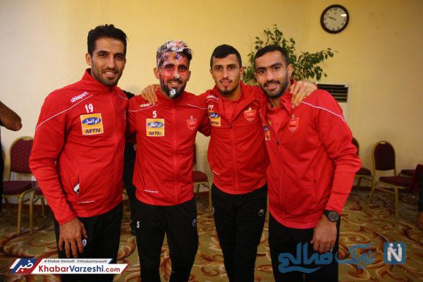 جشن تولد بشار رسن