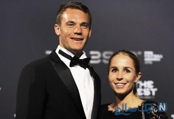 نویر و همسرش