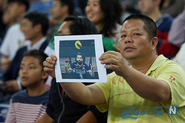 هواداران چینی سعید معروف