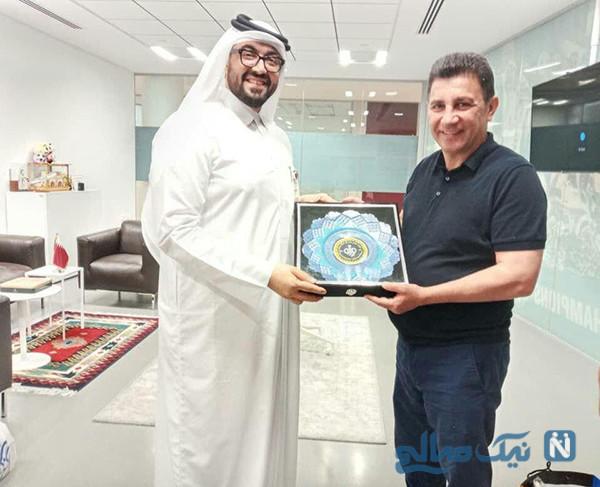 امیر قلعهنویی در قطر