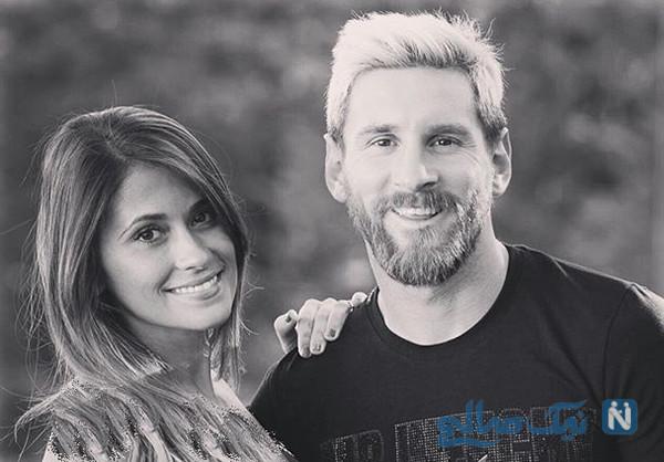 احساسی ترین سورپرایز لیونل مسی برای همسرش در روز عشق