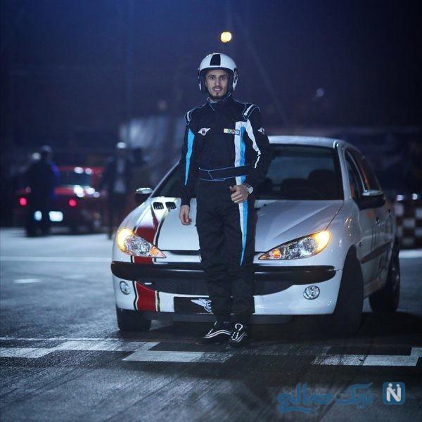 علی علیپور در مسابقه