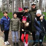 فرار مائورو ایکاردی و خانواده اش از قرنطینه پاریس و رفتن به ایتالیا