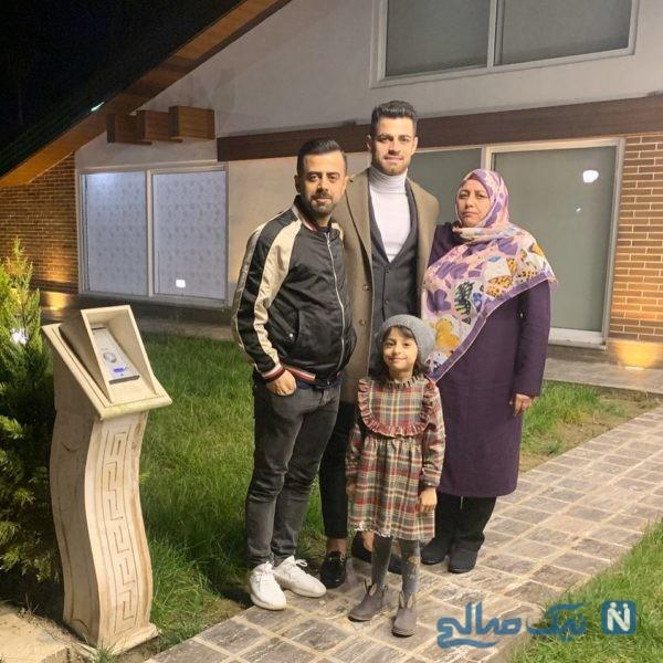 مرتضی پورعلی گنجی و خانواده اش