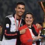 بازگشت مادر رونالدو فوق ستاره پرتغالی یوونتوس به خانه اش