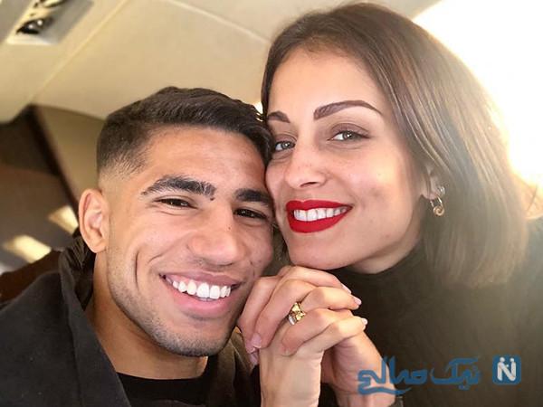 زندگی اشرف حکیمی و همسرش با اختلاف سنی ۱۲ ساله ستاره جوان با همسر معروفش