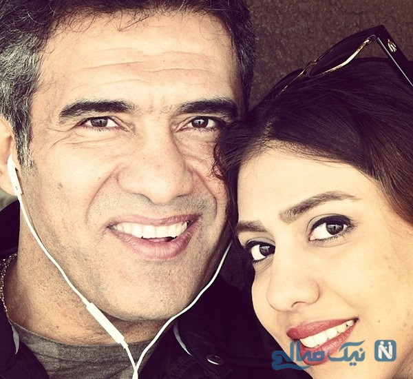 دختر احمدرضا عابدزاده و پایان انتظار دو ماهه عقاب آسیا برای دیدن وی