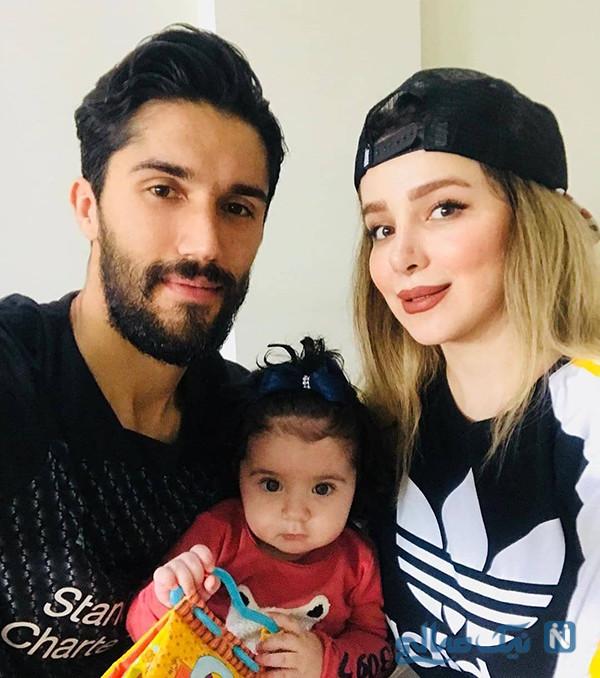 حسین حسینی و دخترش