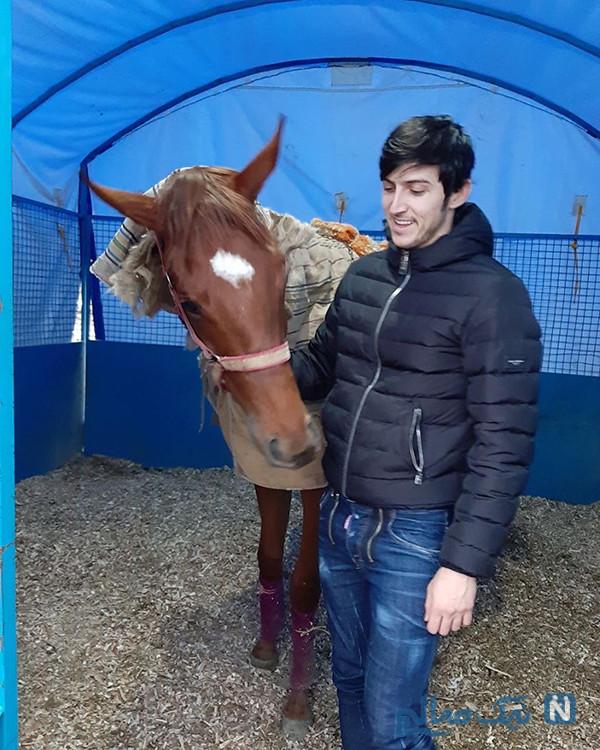 اسب سردار آزمون