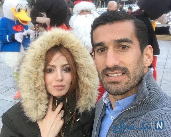 فرزند احسان حاج صفی کاپیتان تیم ملی به دنیا آمد