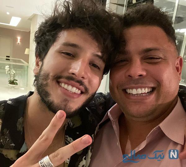 رونالدو برزیلی و این روزهای پسرش با مدل موی عجیب به سبک پدر