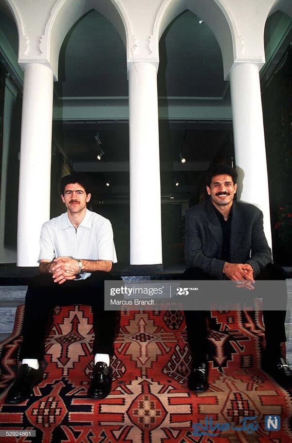 علی دایی و کریم باقری