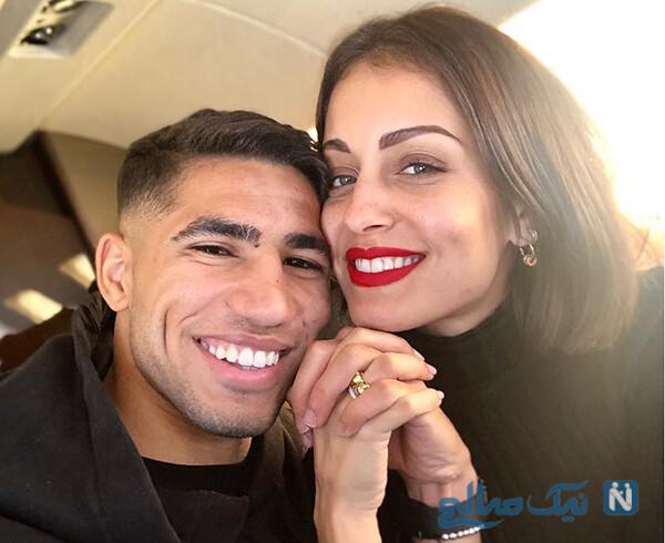 زندگی اشرف حکیمی ستاره مورد علاقه زیدان از رئال مادرید تا دورتموند