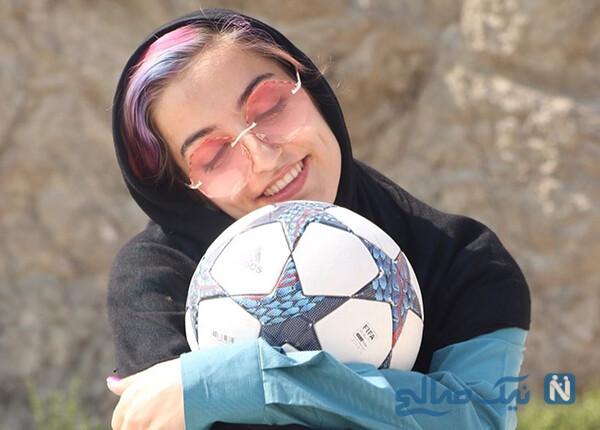 حسنا میرهادی دختر فوتبالیست ایرانی در گزارش ویژه رسانه لهستانی