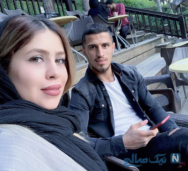 عکس های علی علیپور ستاره پرسپولیسی ها با همسر و پسرش