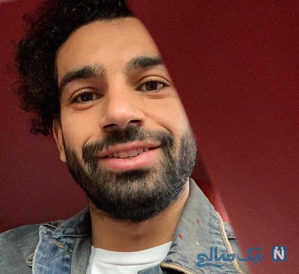تولد محمد صلاح ستاره مصری لیورپول در خانه اش