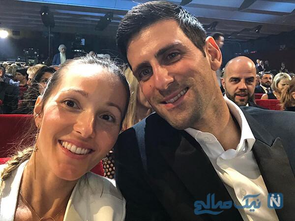 ابتلای مرد شماره یک تنیس جهان نواک جوکوویچ و همسرش به کرونا