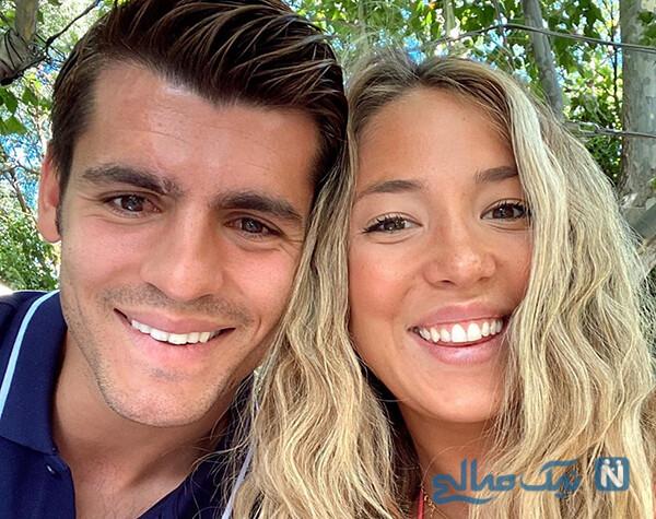 آلوارو موراتا و همسرش آلیس در تعطیلات با قایق لاکچری