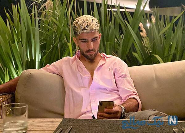 مدل موی امیرعابدزاده