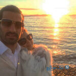سالگرد ازدواج احسان حاج صفی و تبریک خاص آقای فوتبالیست