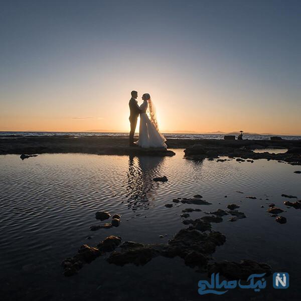 سالگرد ازدواج احسان حاج صفی