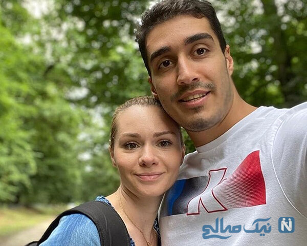 مهدی خدابخشی و همسرش تانیا تاناکوویچ صربستانی