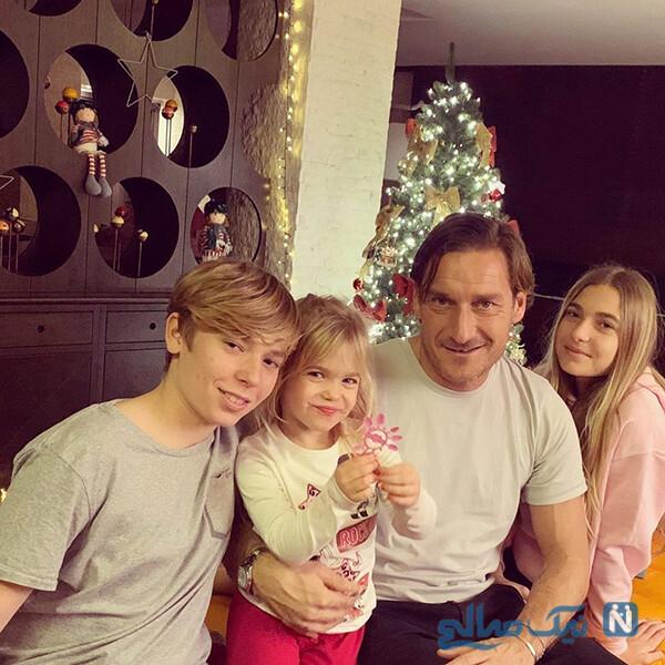 فرانچسکو توتی و دخترش