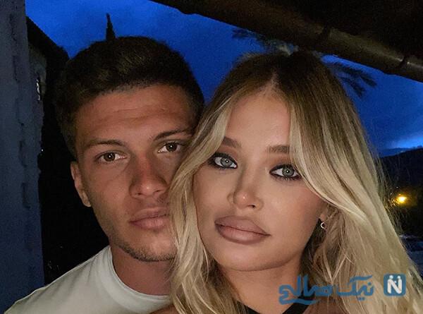 لوکا یوویچ و نامزدش سوفیا مدل مشهور در انتظار تولد فرزندشان