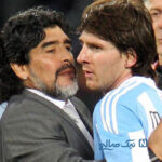 واکنش جالب پسر دیگو مارادونا به مقایسه پدرش با لیونل مسی