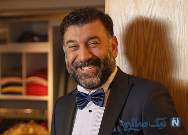 چهره علی انصاریان باوردنکردنی در کنار آقای بازیگر