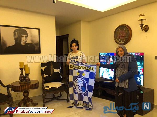 همسر مرحوم ناصر حجازی