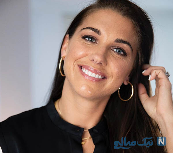 ستاره محبوب فوتبال زنان آمریکا الکس مورگان در تاتنهام