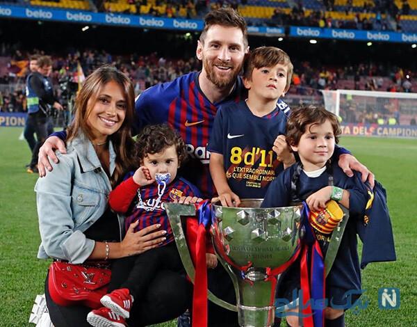 خانواده لیونل مسی ستاره آرژانتینی دلیل ماندن او در بارسلونا