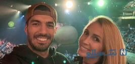 پیام همسر لوئیز سوارز پس از نمایش درخشان وی در اتلتیکو مادرید