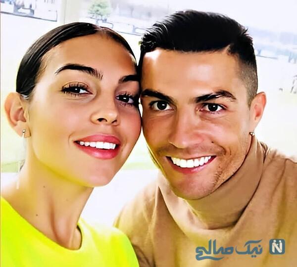 نامزدی رونالدو و جورجینا مدل اسپانیایی به طور رسمی