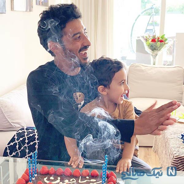 جشن تولد رضا قوچان نژاد