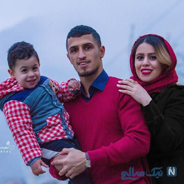 علی علیپور و فرزندش