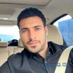 شجاع خلیل زاده در الریان و پاسخ او به بوسه روی لوگوی تیم قطری