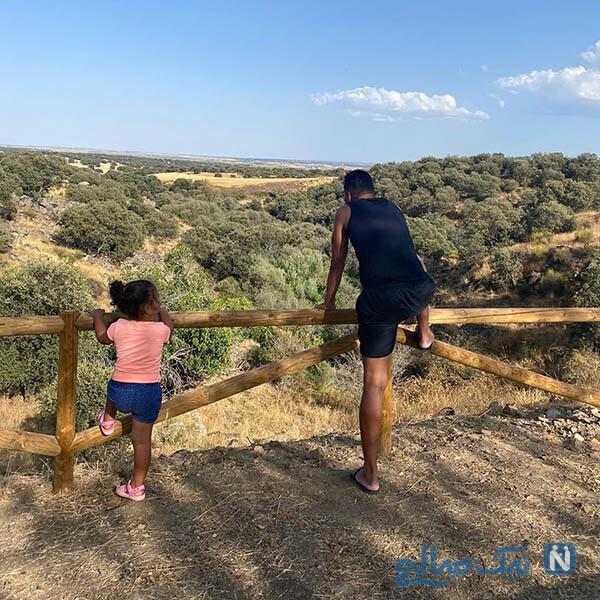 کارلوس کاسمیرو و دخترش