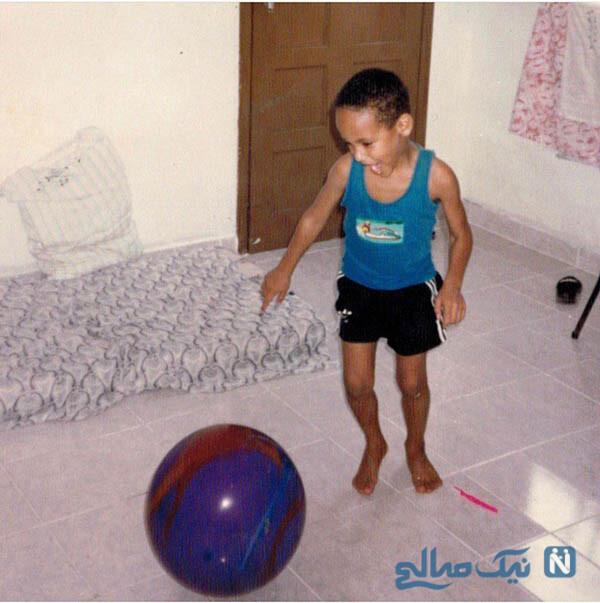 کودکی نیمار