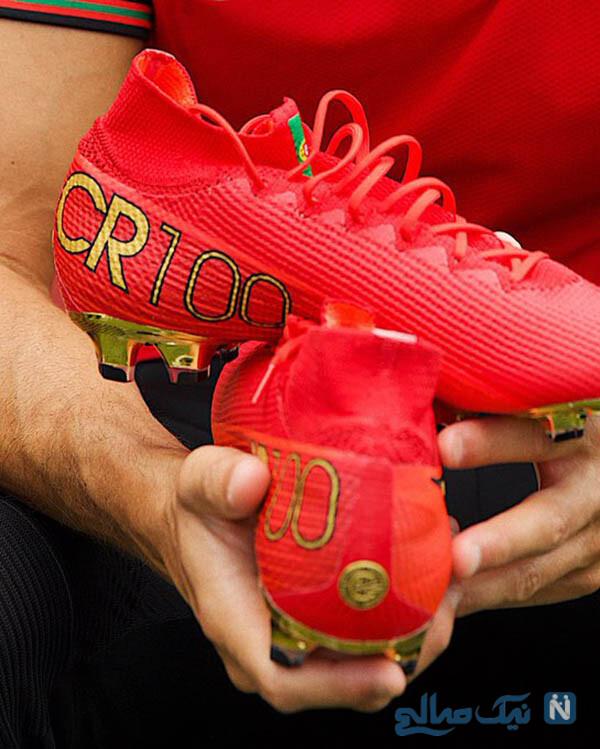 کفش های کریس رونالدو