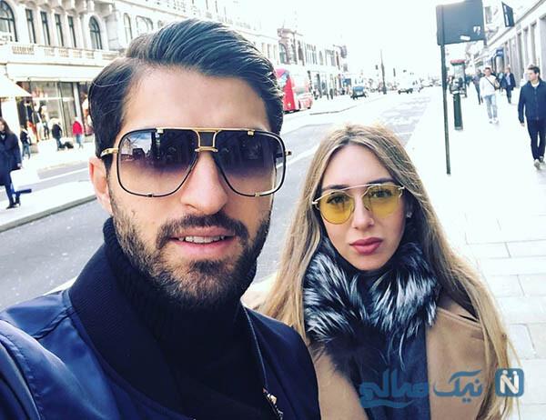 گل کریم انصاری فرد مهاجم ایرانی آاک یونان تقدیم به دخترش سرینا
