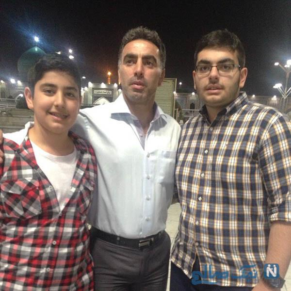 محمود فکری و پسرانش