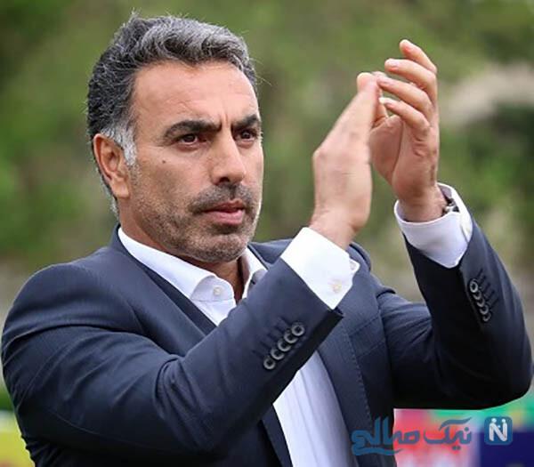 سرمربی استقلالی ها محمود فکری و پسرانش در یک قاب