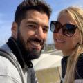 همسر لوئیس سوارز و هدیه خاص او به آقای فوتبالیست