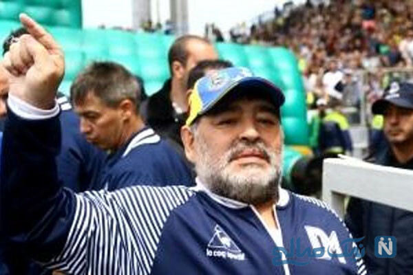 دیگو مارادونا در بیمارستان